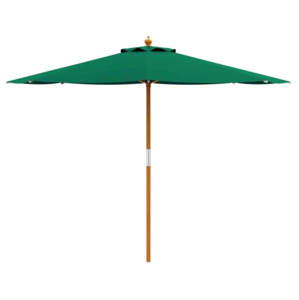 Prince Parasol For Outdoor Garden or Contract Use in Green