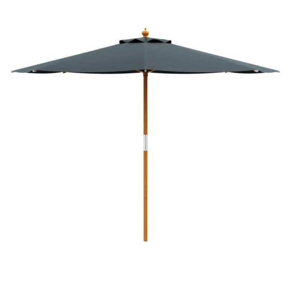 Prince Parasol For Outdoor Garden or Contract Use in Grey