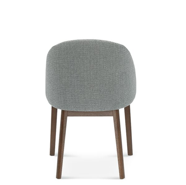 Sammy Side Chair DeFrae Contract Furniture Back View