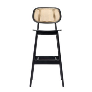 Titus bar stool Vincent Sheppard at DeFrae Contract Furniture Cane Seat and Back 2