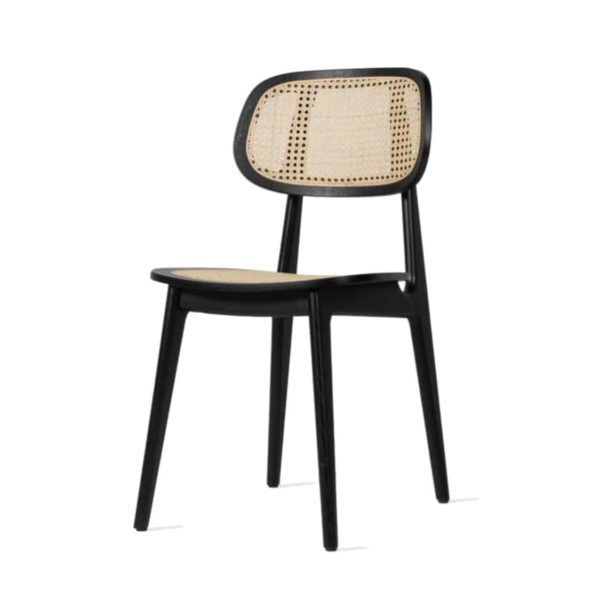 Titus dining chair Vincent Sheppard at DeFrae Contract Furniture Cane Seat and Back