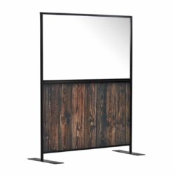 Aurora Screen 1500 Rustic Wood