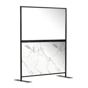 Aurora Screen 1500 Carrara Marble