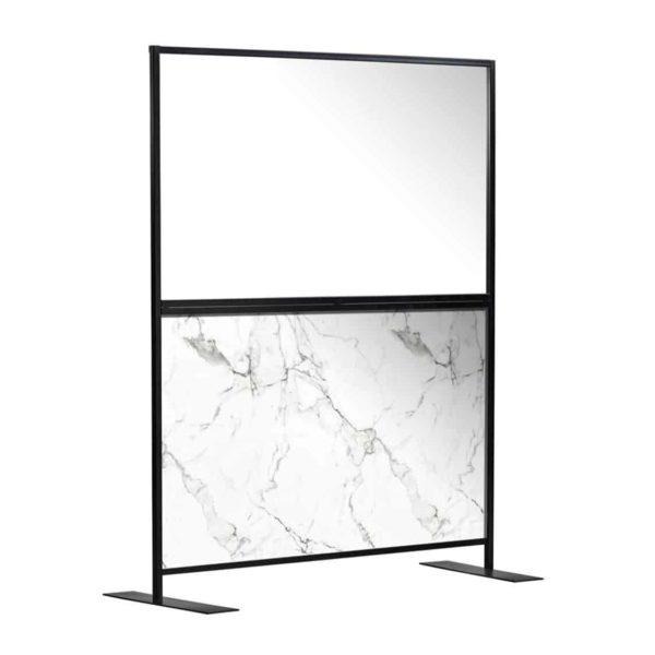 Aurora Screen 1500 Carrara Marble
