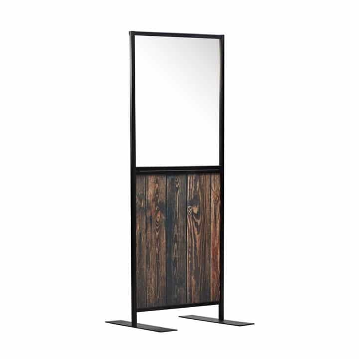 Aurora Screen 750 Rustic Wood