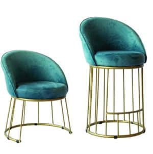 Dame CH6250 Side Chair and Bar Stool