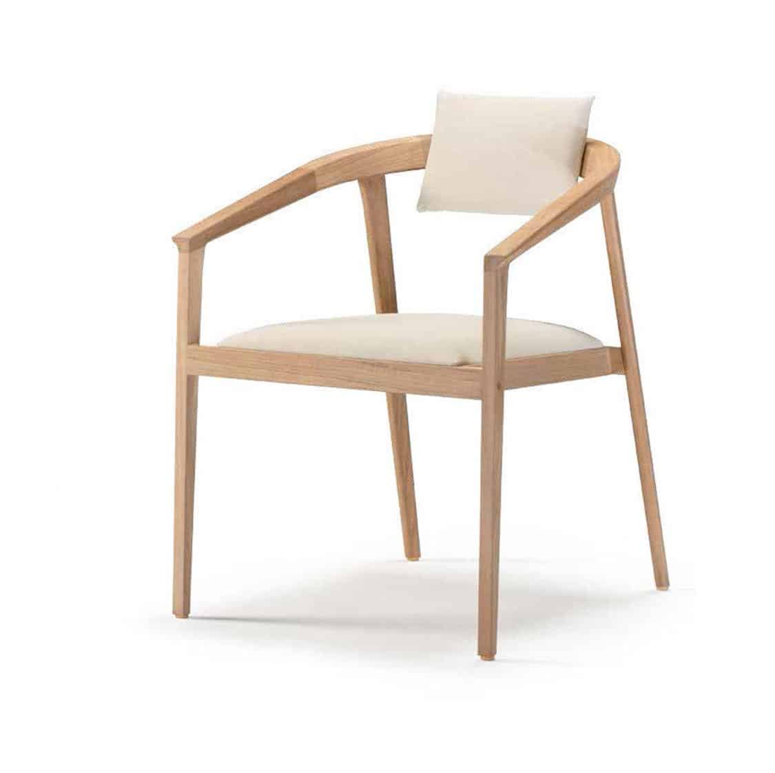 Java Curved Armchair DeFrae Contract Furniture