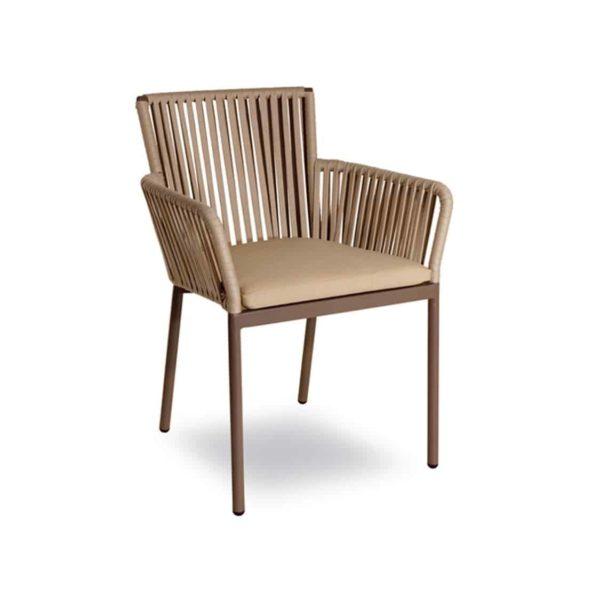 Meghan Armchair DeFrae Contract Furniture Beige