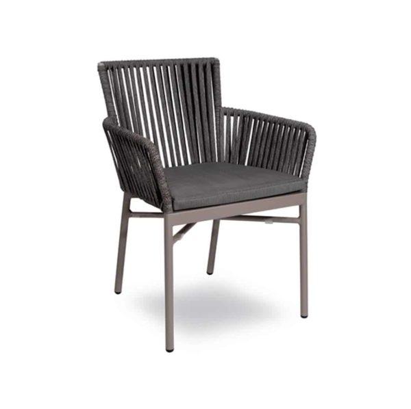 Meghan Armchair DeFrae Contract Furniture Grey