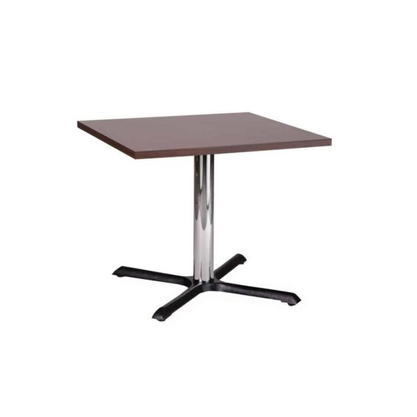 Shell Table Base Chrome DeFrae Contract Furniture Coffee Height