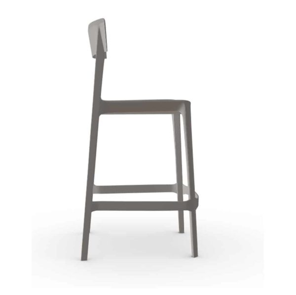 Skin Bar Stool Calligaris at DeFrae Contract Furniture Taupe