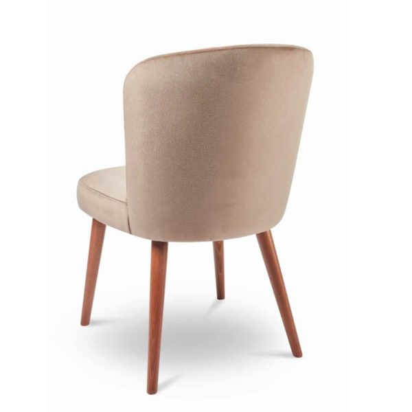 Brenda S Side Chair DeFrae Contract Furniture Back