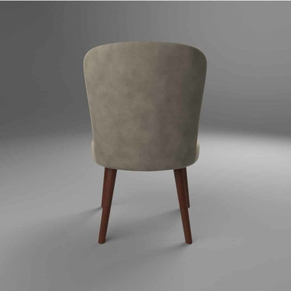 Brenda S Side Chair DeFrae Contract Furniture Back View