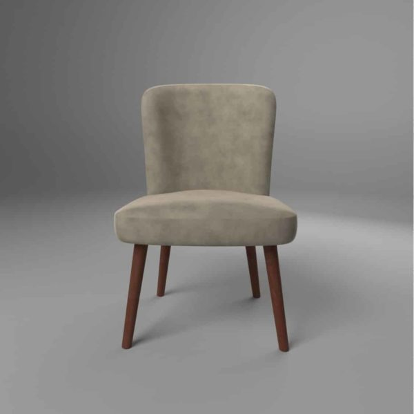 Brenda S Side Chair DeFrae Contract Furniture Front View