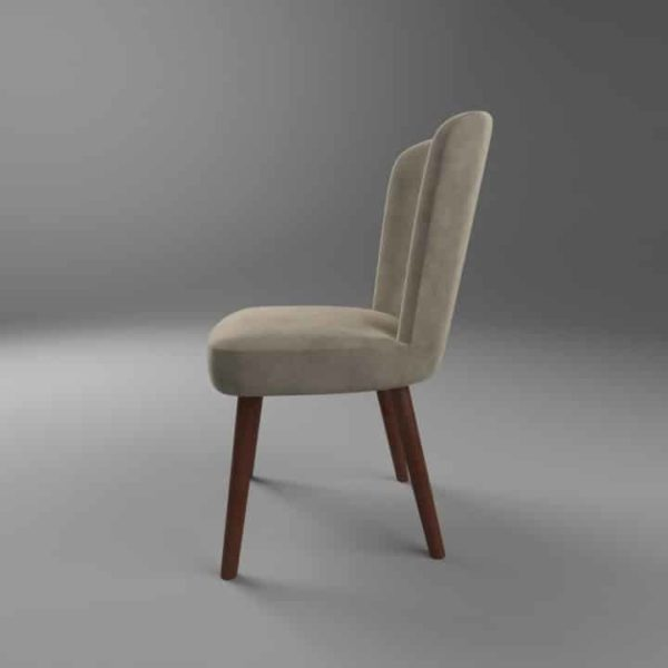 Brenda S Side Chair DeFrae Contract Furniture Left Side