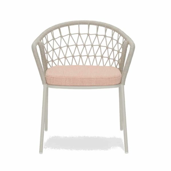 Panarea Armchair 3675 Pedrali at DeFrae Contract Furniture Hero Blush