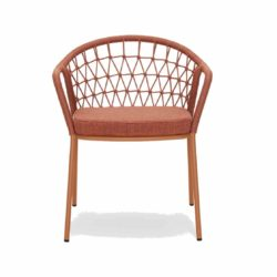 Panarea Armchair 3675 Pedrali at DeFrae Contract Furniture Hero Red