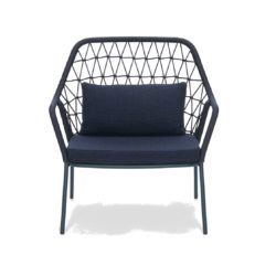 Panarea Lounge Chair 3679 Pedrali at DeFrae Contract Furniture Blue