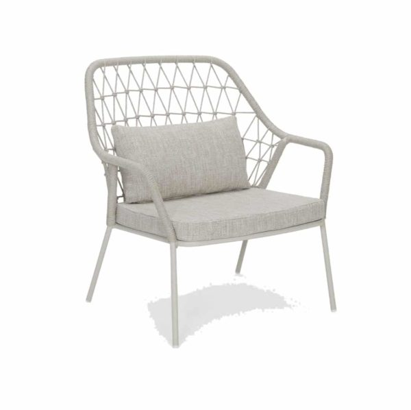 Panarea Lounge Chair 3679 Pedrali at DeFrae Contract Furniture Grey