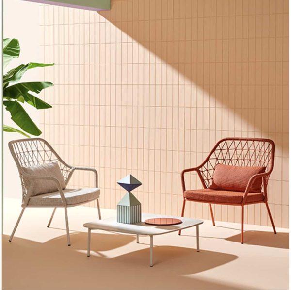 Panarea Lounge Chair 3679 Pedrali at DeFrae Contract Furniture In Situ