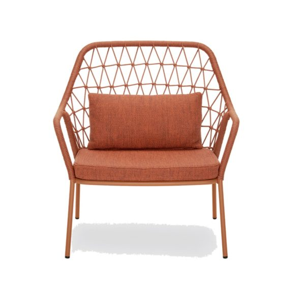 Panarea Lounge Chair 3679 Pedrali at DeFrae Contract Furniture Red