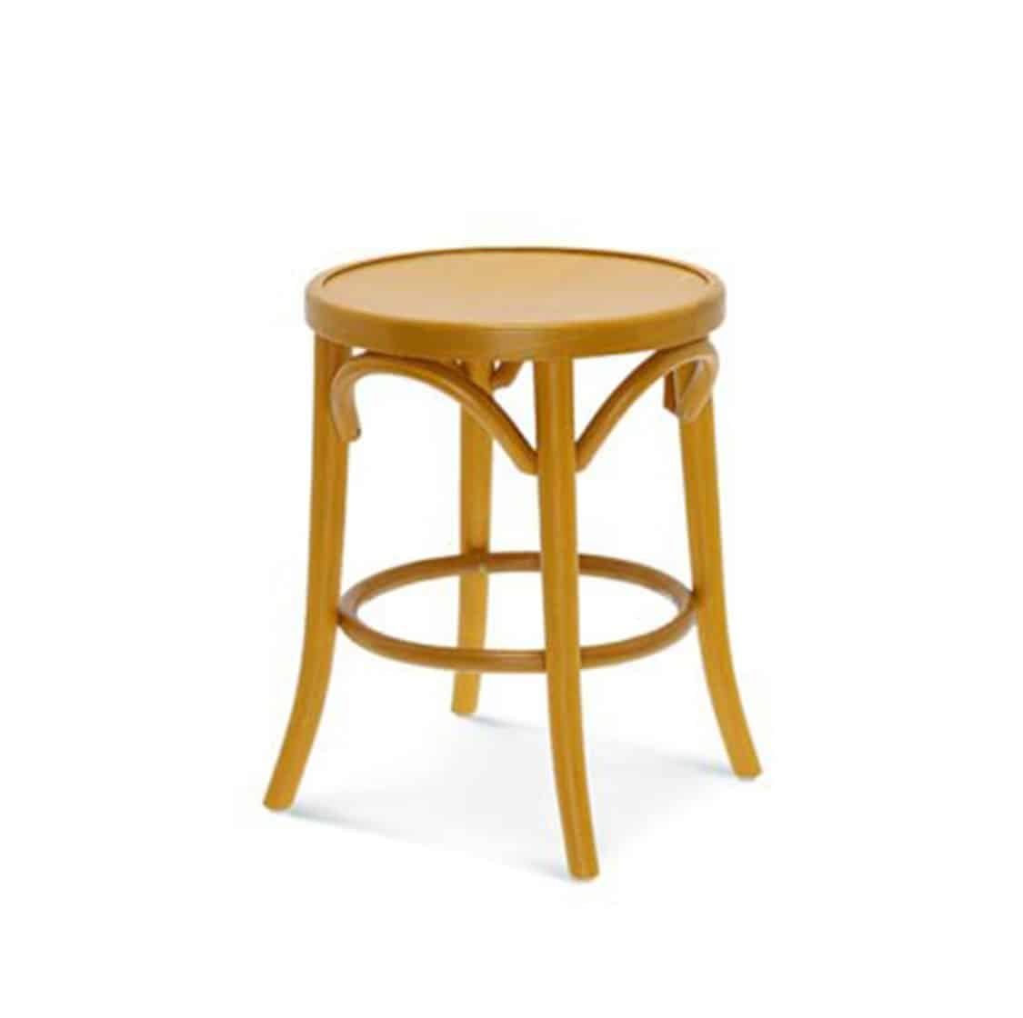 Archie low bentwood stool DeFrae Contract Furniture 2