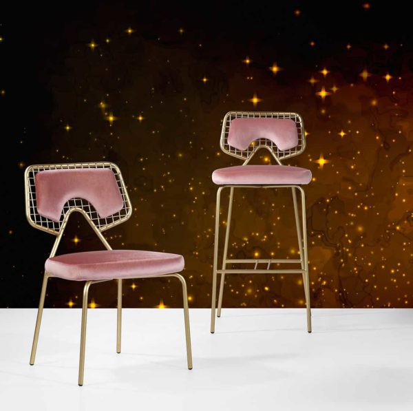 Planet S1 Side Chair and Bar Stool DeFrae Contract Furniture Range