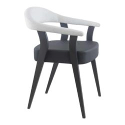 Gianna Armchair DeFrae Contract Furniture Front Side