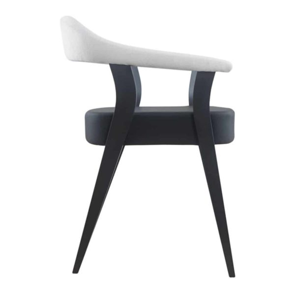 Gianna Armchair DeFrae Contract Furniture Side View
