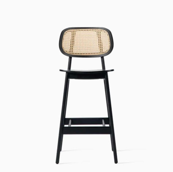 Titus counter stool Vincent Sheppard at DeFrae Contract Furniture Cane Seat and Back