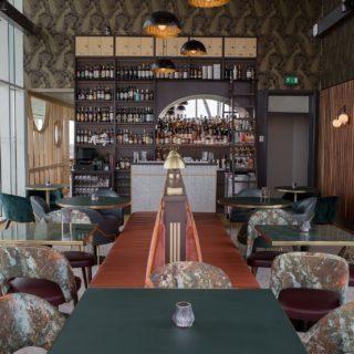 Bar Furniture by DeFrae Contract Furniture at Six Restaurant Trent Bridge Cricket Ground 3