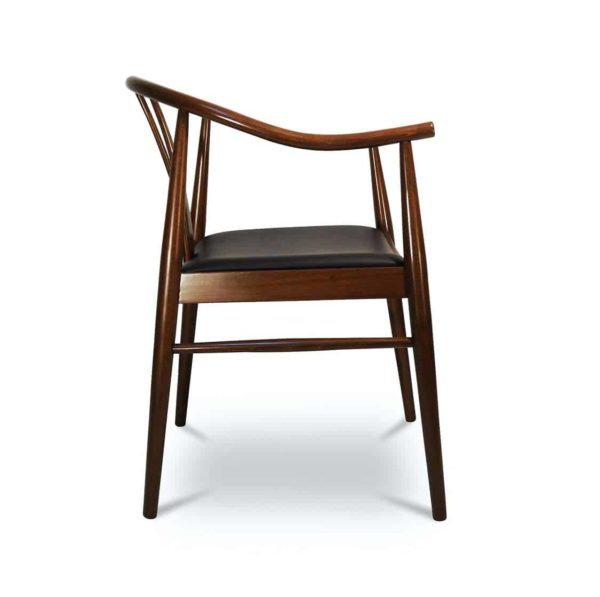 Cervia P Armchair Side View DeFrae Contract Furniture