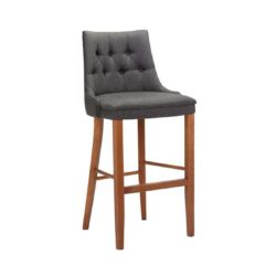 Cortana Deep Button Bar Stool DeFrae Contract Furniture