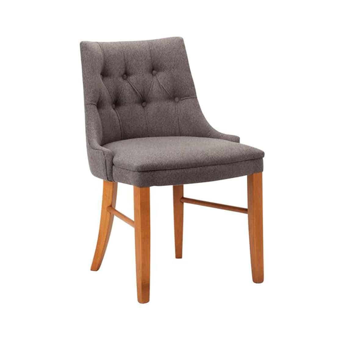 Cortana Deep Button Side Chair DeFrae Contract Furniture