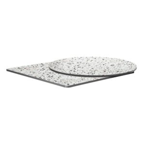 Extrema Mixed Terrazzo Effect Outdoor Tabletops DeFrae Contract Furniture