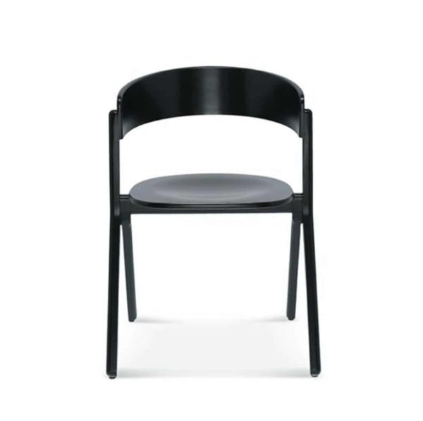 Signa Side Chair Curved Back DeFrae Contract Furniture