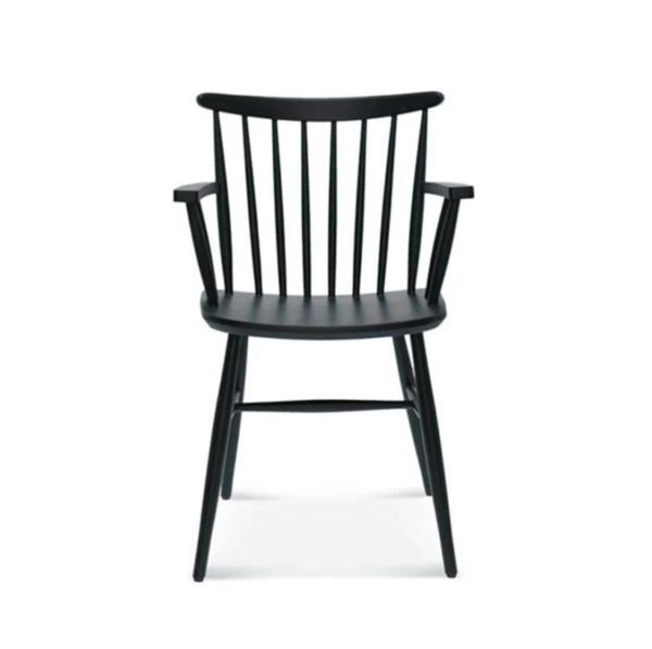 Wand Armchair Spindle Back DeFrae Contract Furniture