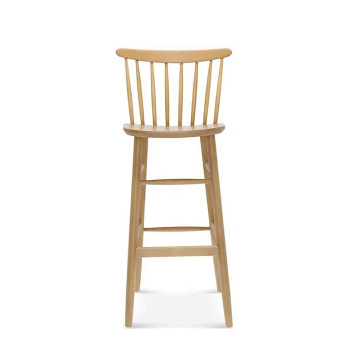 Wand Bar Stool Spindle Back DeFrae Contract Furniture