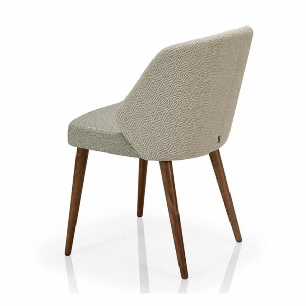 Alissa A970 ST Side Chair DeFrae Contract Furniture Back View