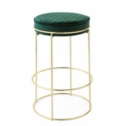 Atollo Ottoman Bar Stool by Calligaris at DeFrae Contract Furniture Forest Green