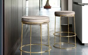 Atollo Ottoman Bar Stool by Calligaris at DeFrae Contract Furniture
