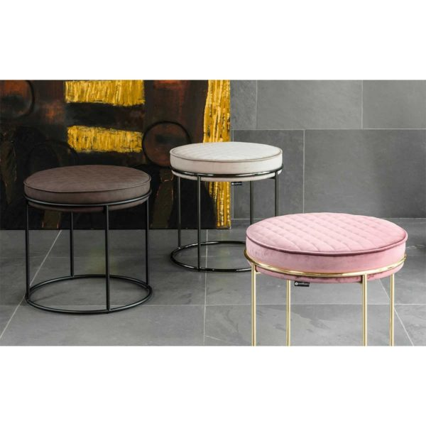 Atollo Ottoman Stools by Calligaris at DeFrae Contract Furniture