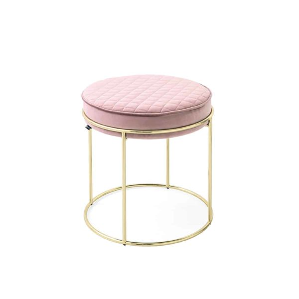 Atollo Ottoman Stools by Calligaris at DeFrae Contract Furniture Pink