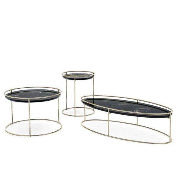 Atollo Side Tables by Calligaris at DeFrae Contract Furniture
