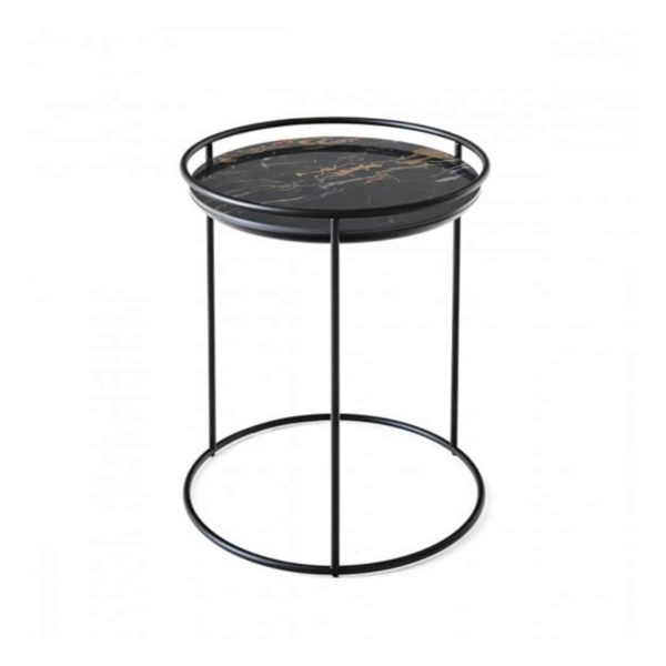 Atollo Side Tables by Calligaris at DeFrae Contract Furniture Black