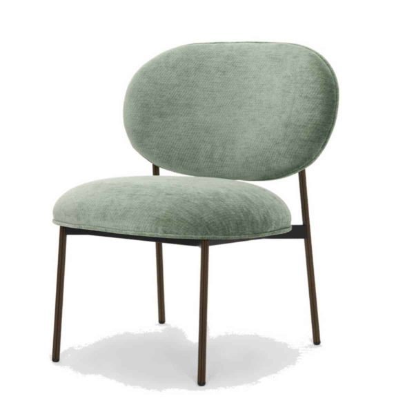 Blume 2951 Lounge Chair Pedrali at DeFrae Contract Furniture Grey with black frame