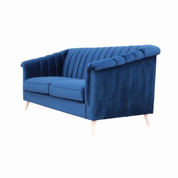 Lucas Sofa Fluted Back DeFrae Contract Furniture