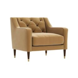 Ricardo Armchair with button back DeFrae Contract Furniture