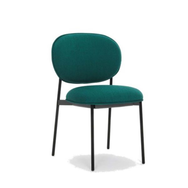 Blume 2950 Side Chair Pedrali at DeFrae Contract Furniture Black Metal Frame