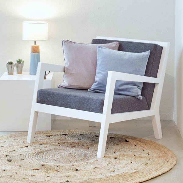 Clooney lounge armchair DeFrae Contract Furniture Home